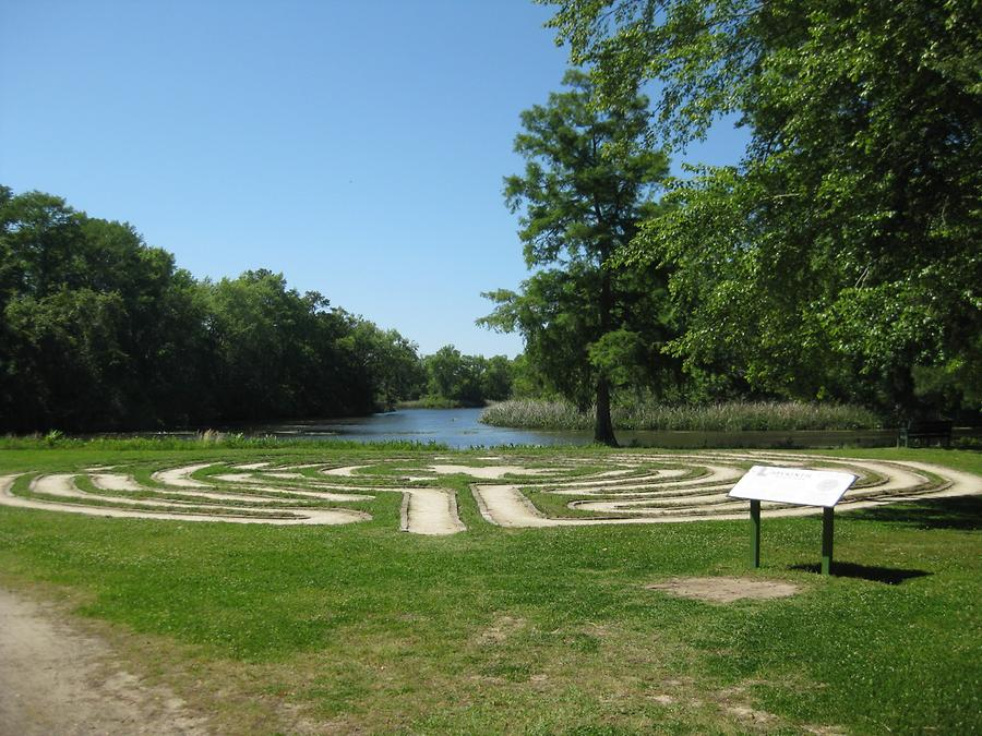 Pawleys Island Brookgreen Gardens Labyrinth