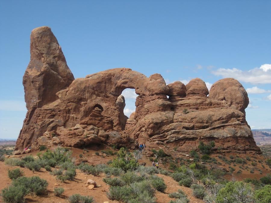 Arches National Park South Window