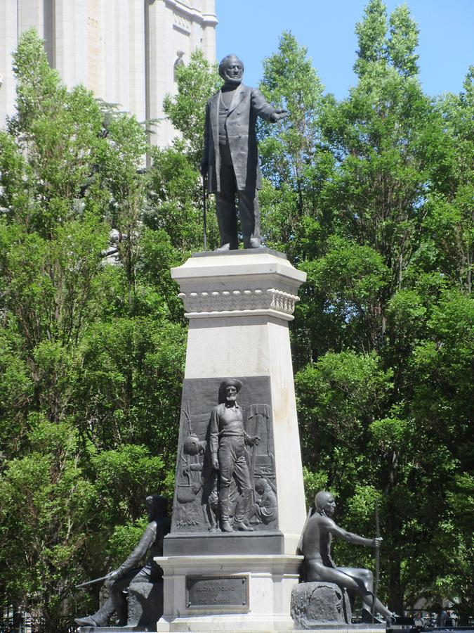 Salt Lake City - Temple Square - Brigham Young Monument