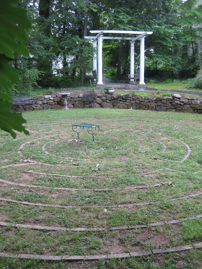 Charlottesville Unitarian Universalist Thomas Jefferson Memorial Church Labyrinth