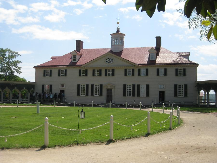 mansion of the former plantation