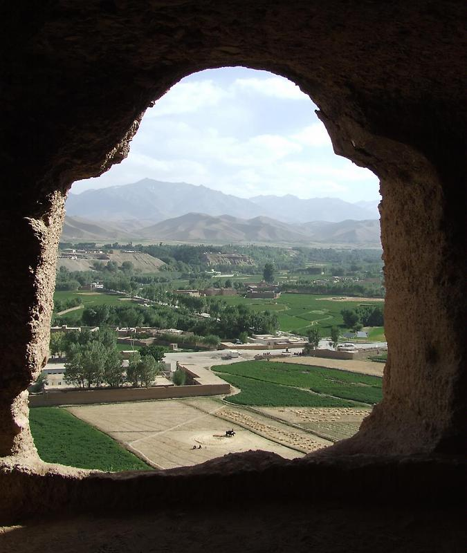 Caves in Bamyan