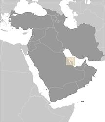 Bahrain in Middle East
