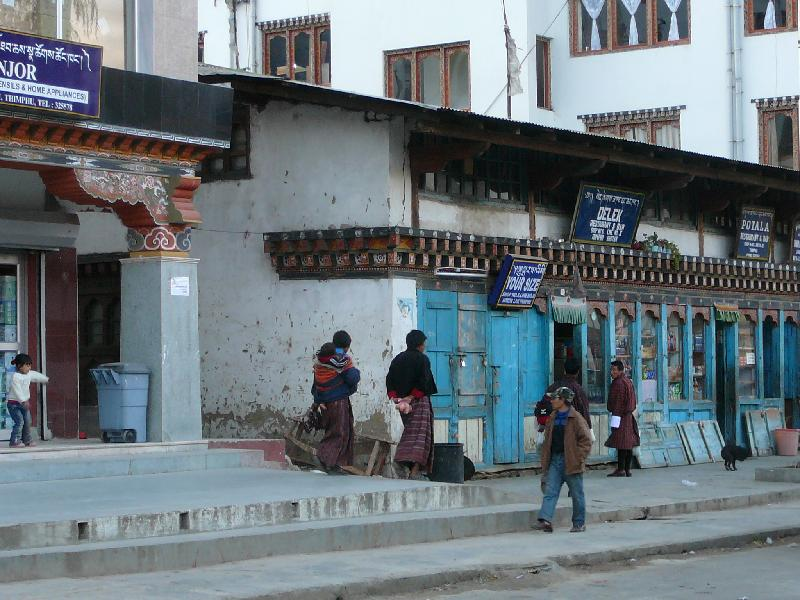 Street in Thimphu