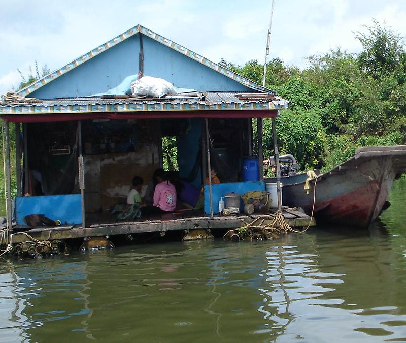 Typical floating house