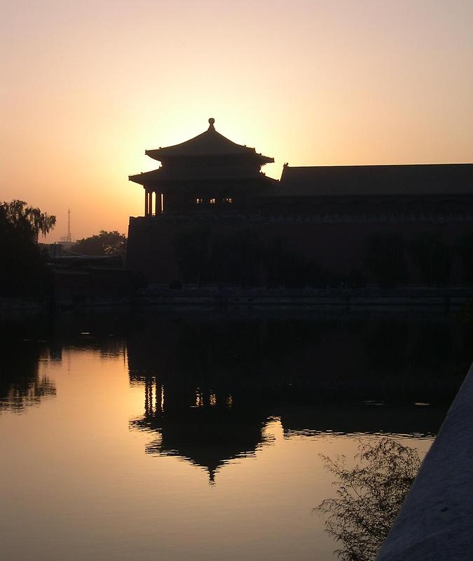 Sunset, Forbidden City