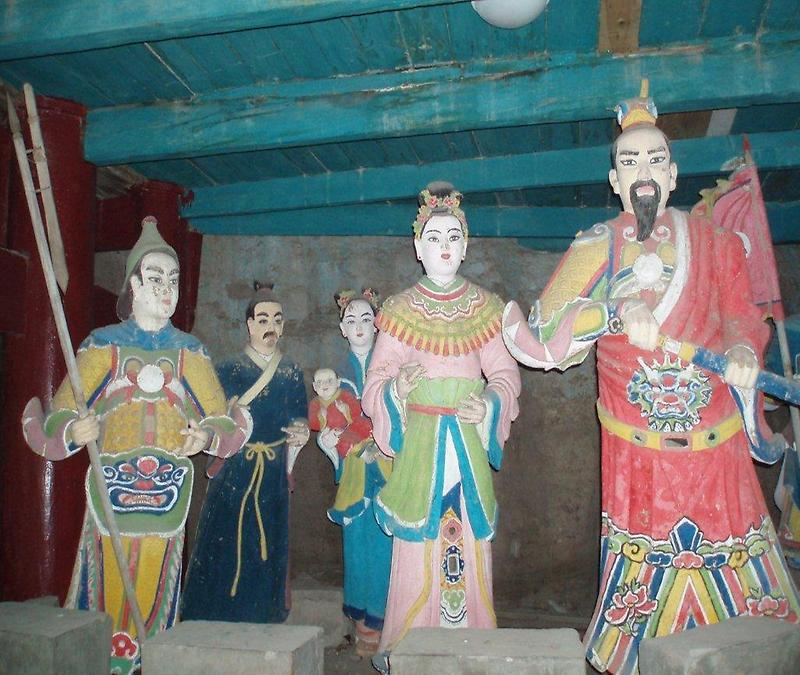 Figures in the Pagoda