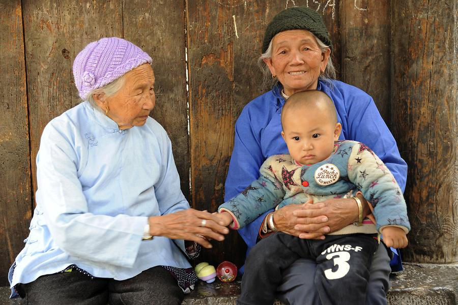 Tuanshan - Local Family