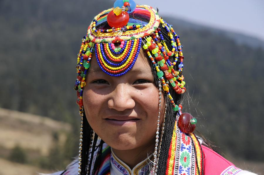 Yak Meadow - Naxi Woman