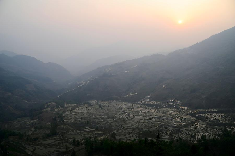 The Rice Terraces of Laohuzui