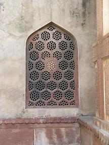 Window, Agra Fort