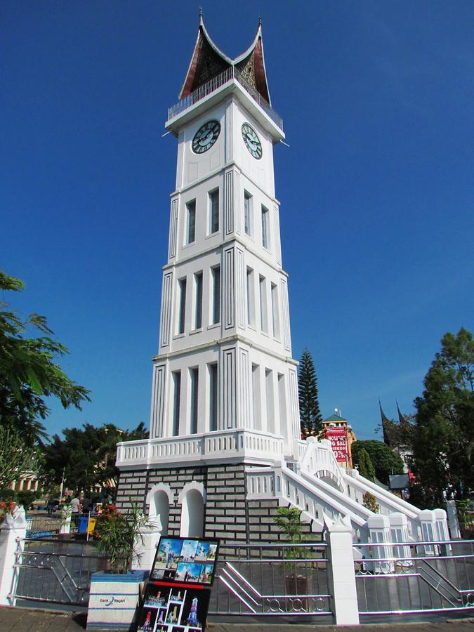 Bukittinggi - Clocktower, the Town's Landmark