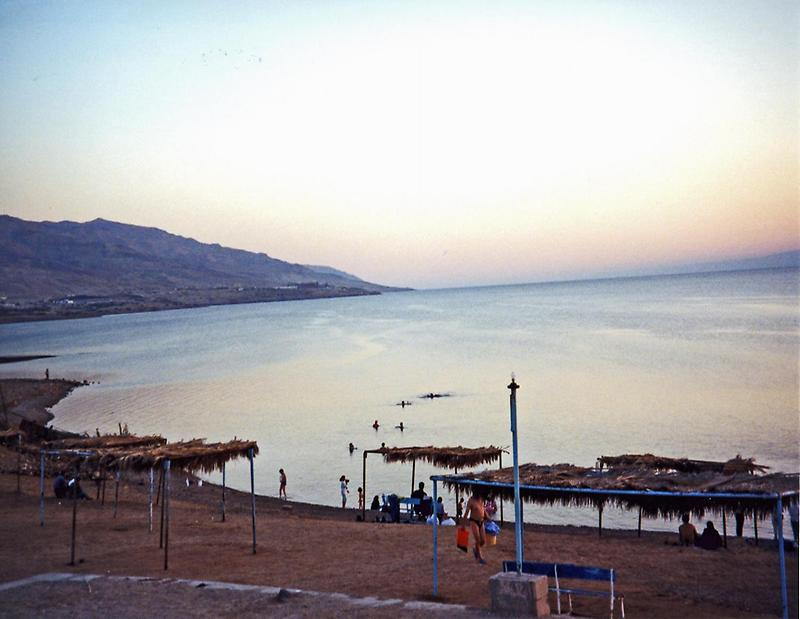 Sunset, Dead Sea