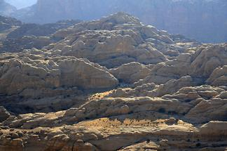 Mountain landscape at Petra