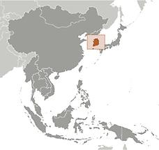 Korea, South in East And SouthEast Asia