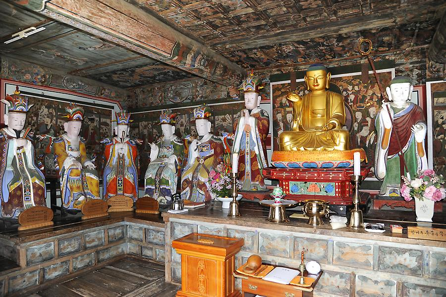 Inside the Haein Temple