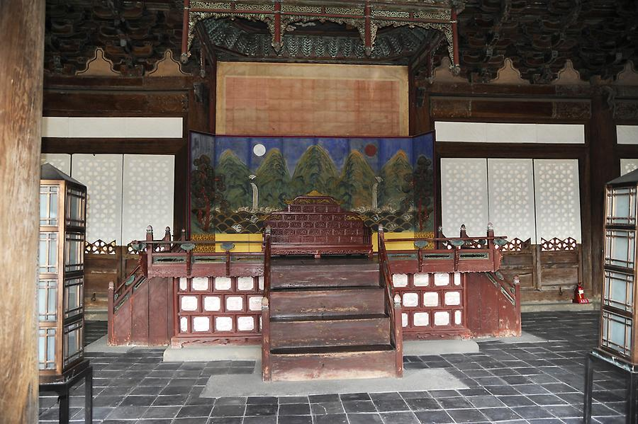 Changgyeong Palace inside