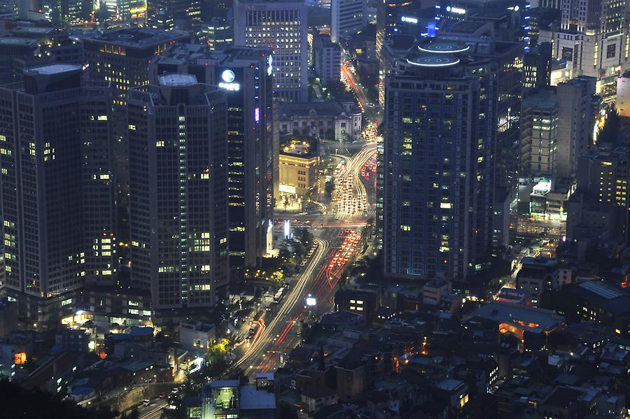 Seoul at night (1)