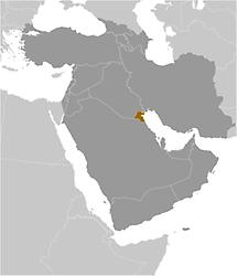 Kuwait in Middle East