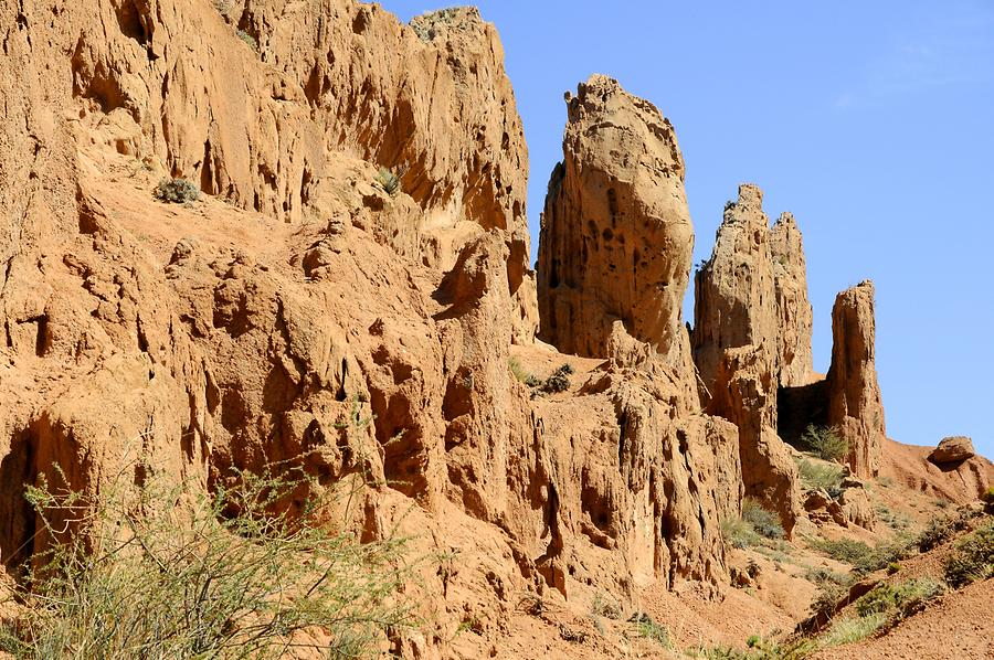 Skazka Canyon - Rock Formations