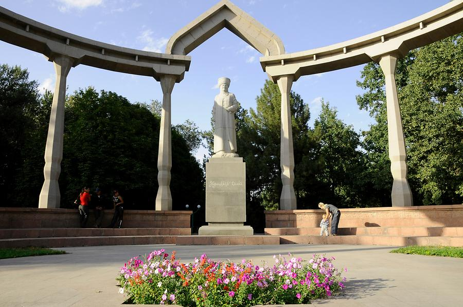 Bishkek - Monument of Datka