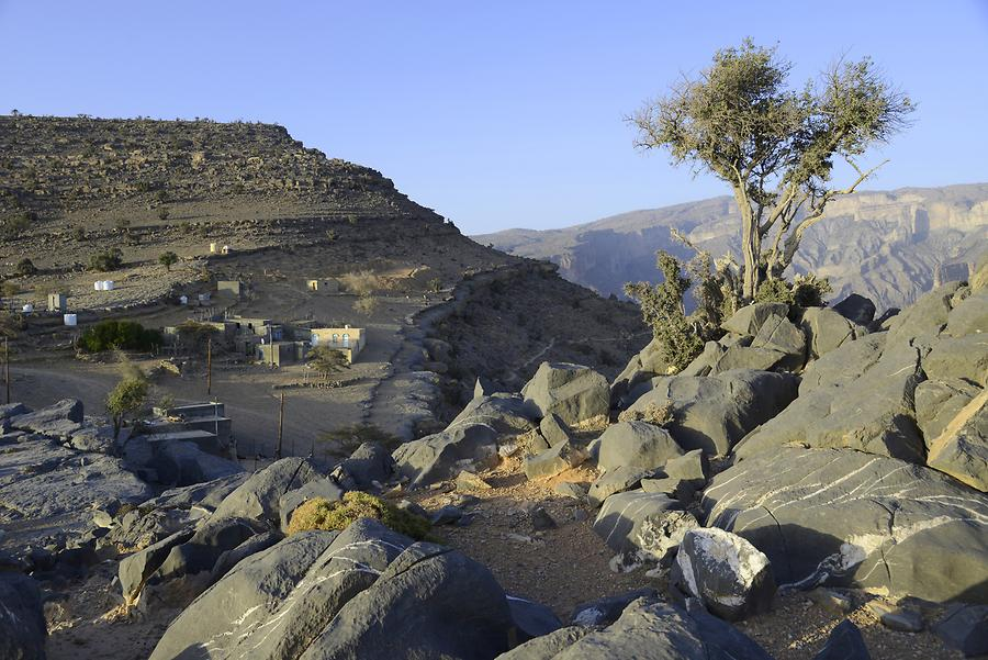 Jebel Shams - Village