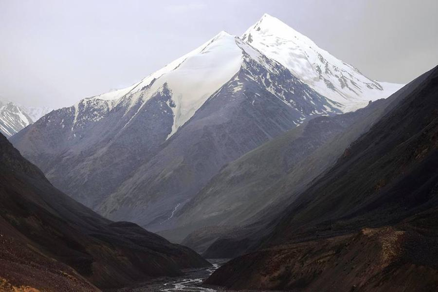 Mountains as seen from Gilgit Baltistan