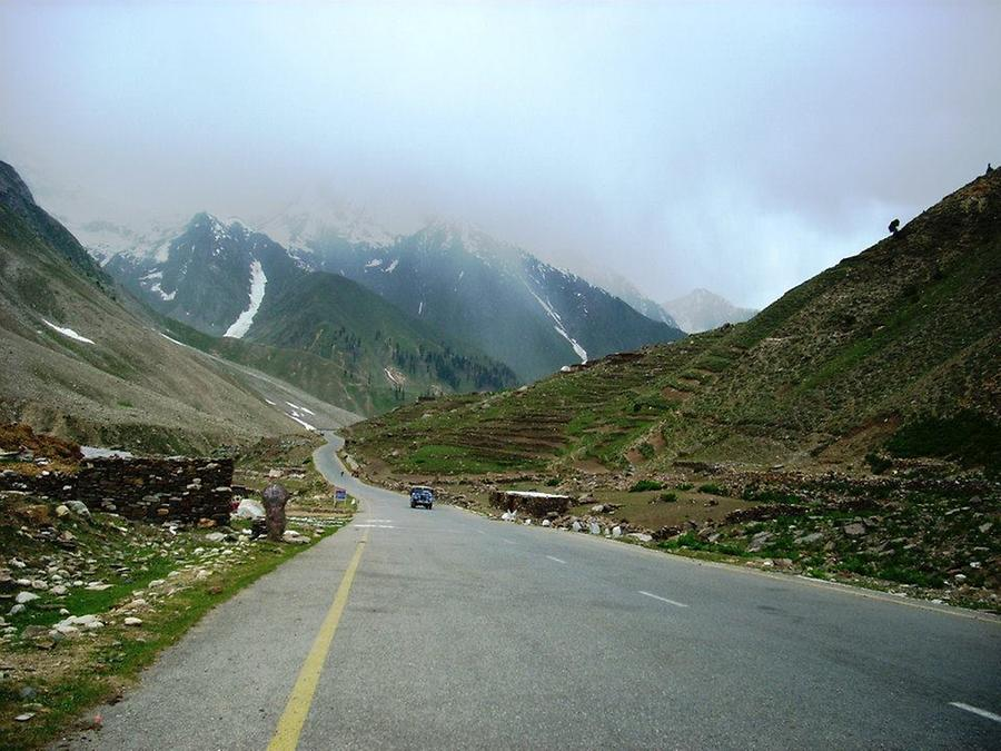 Roadway towards Naran