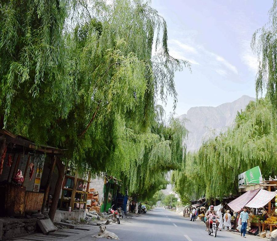 Streets in Hunza