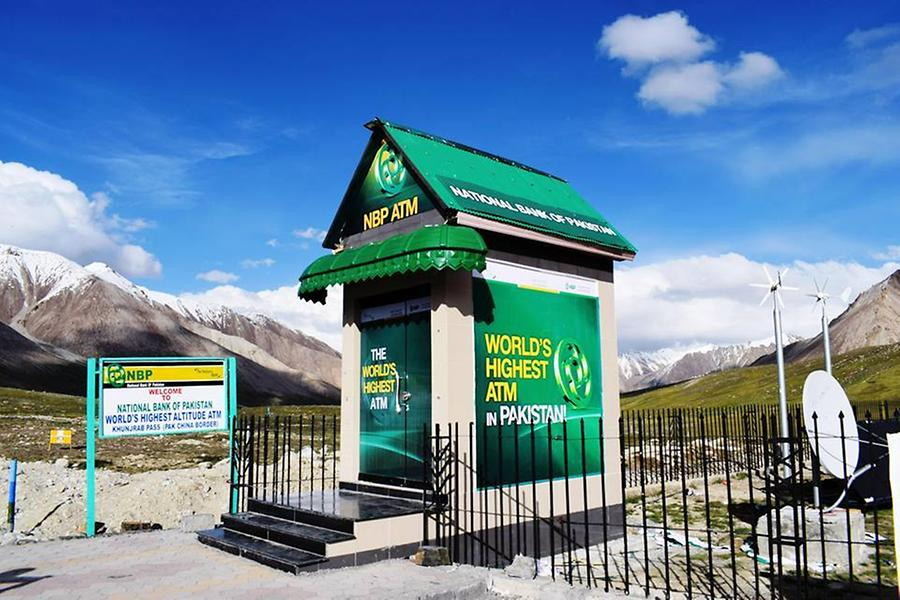 World's Highest ATM machine