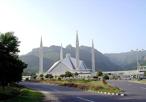 Faisal Masjid, Photo: Asjad Jamshed, from Wikicommons