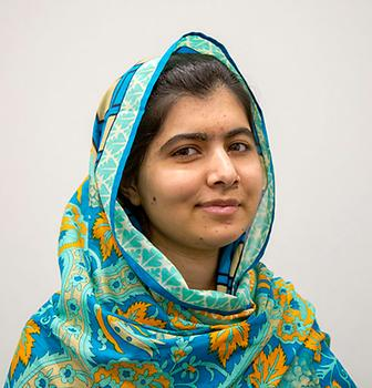 Malala Yousafzai, Photo: DFID-UK, from Wikicommons