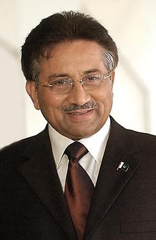 Pervez Musharraf, Photo: Antonio Cruz, from Wikicommons