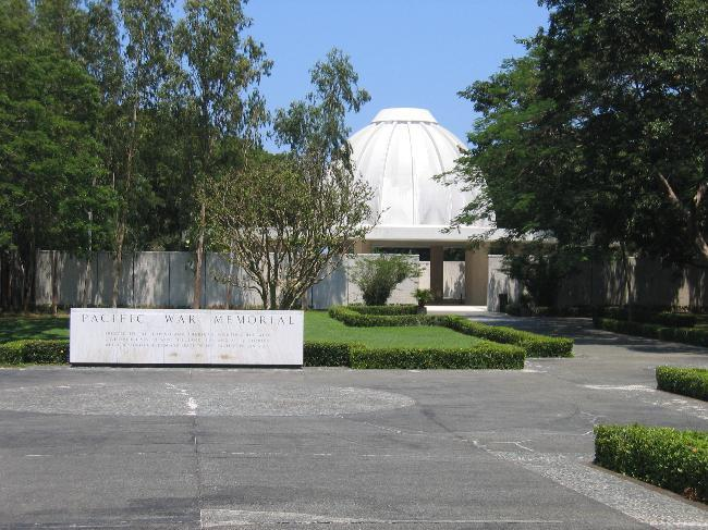 Pacific War Memorial building