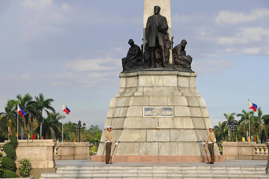 Monument of Jose Rizal in the Rizal Park