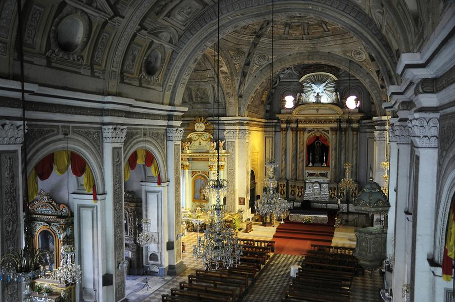Inside the San Agustin Church Intramuros