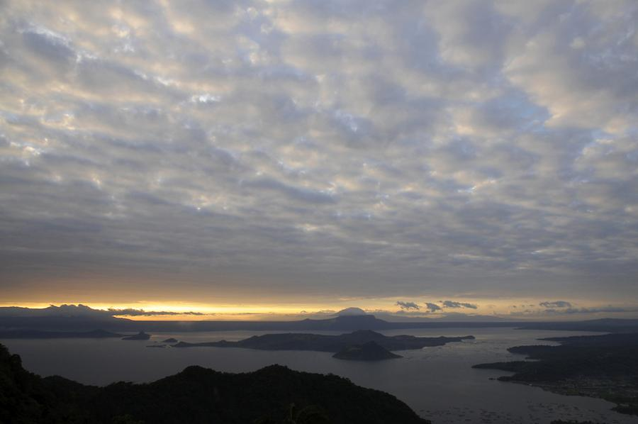 Sunrise Taal Lake