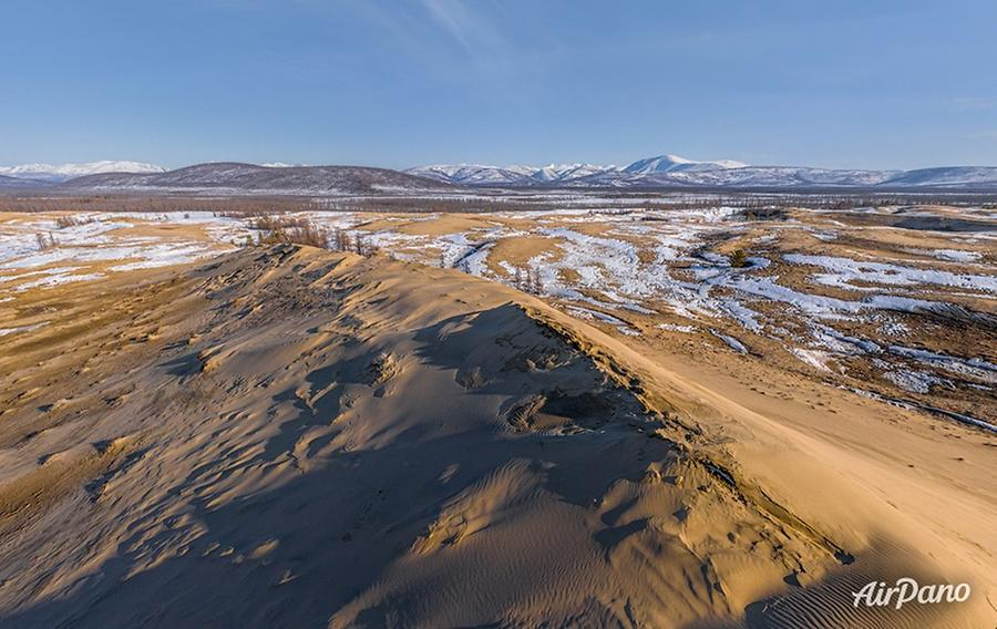 Chara Sands, Russia, © AirPano