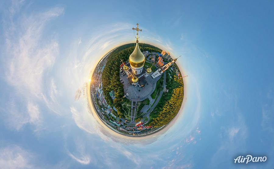 Church of the Resurrection. Khanty-Mansiysk, Russia, © AirPano
