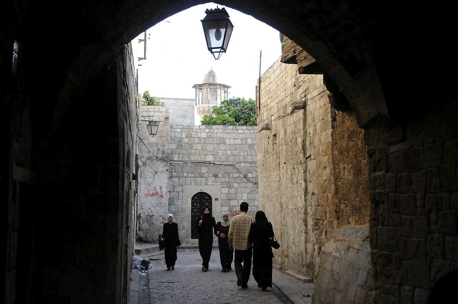 Old town of Aleppo