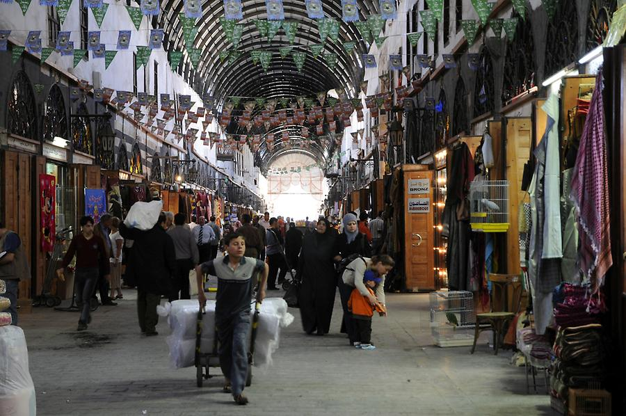 Souq of Damascus