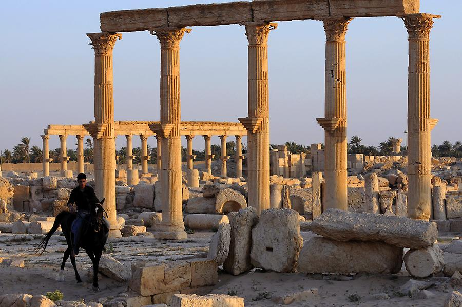 Grand Colonnade at Palmyra