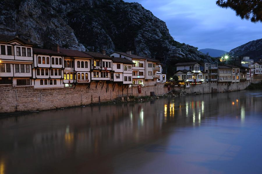 Amasya at Night