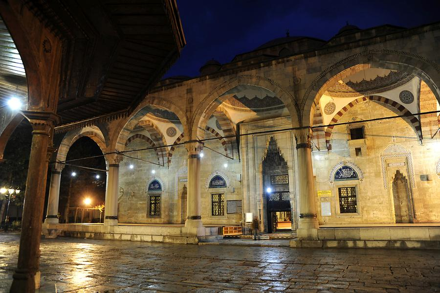 Bayezid Mosque at Night
