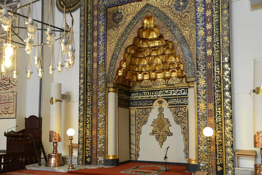 Bursa - Grand Mosque (Ulu Cami); Mihrab