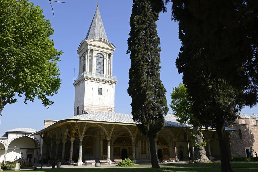 Topkapi Palace - Tower of Justice
