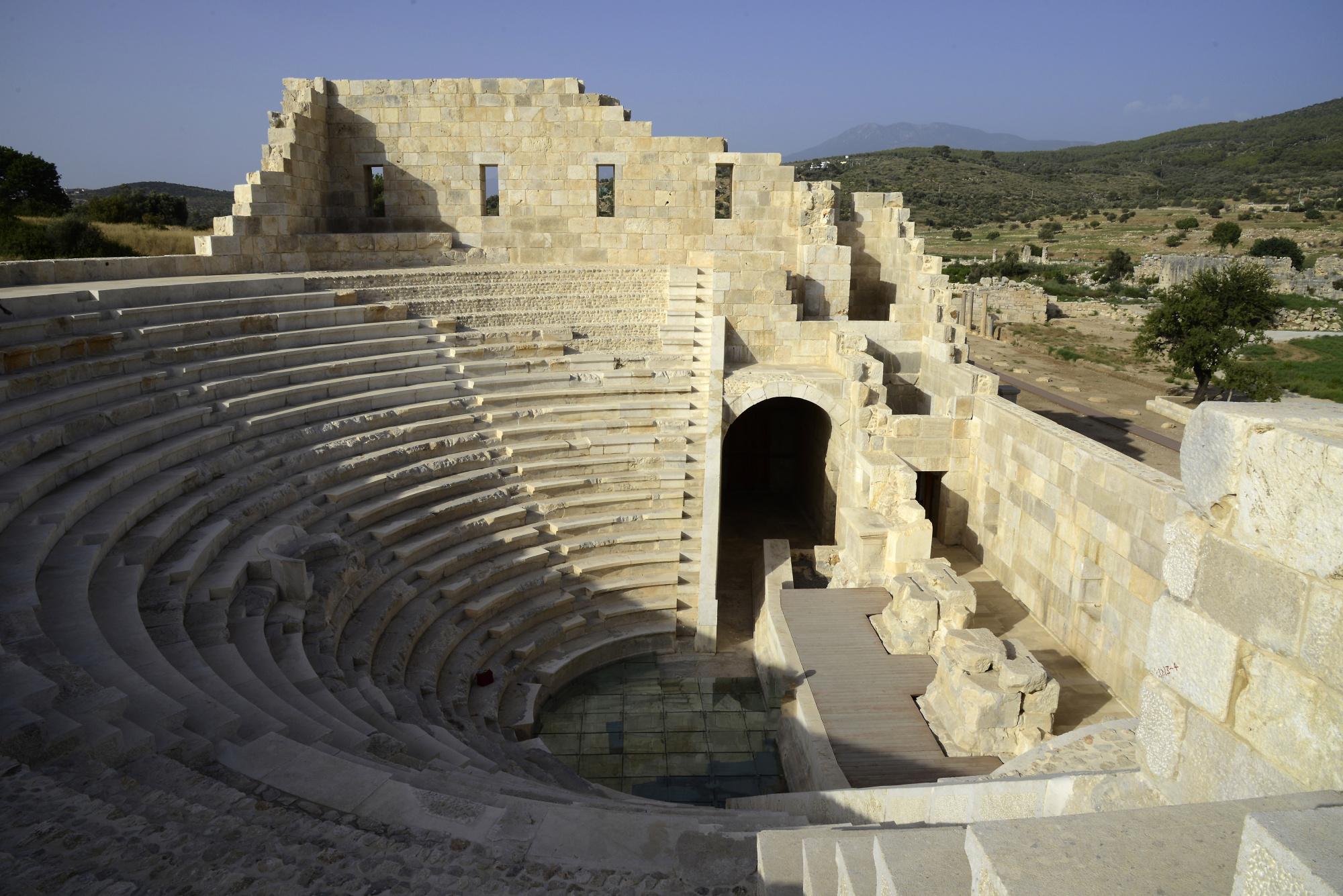 Patara - Bouleuterion (4) | Patara | Pictures