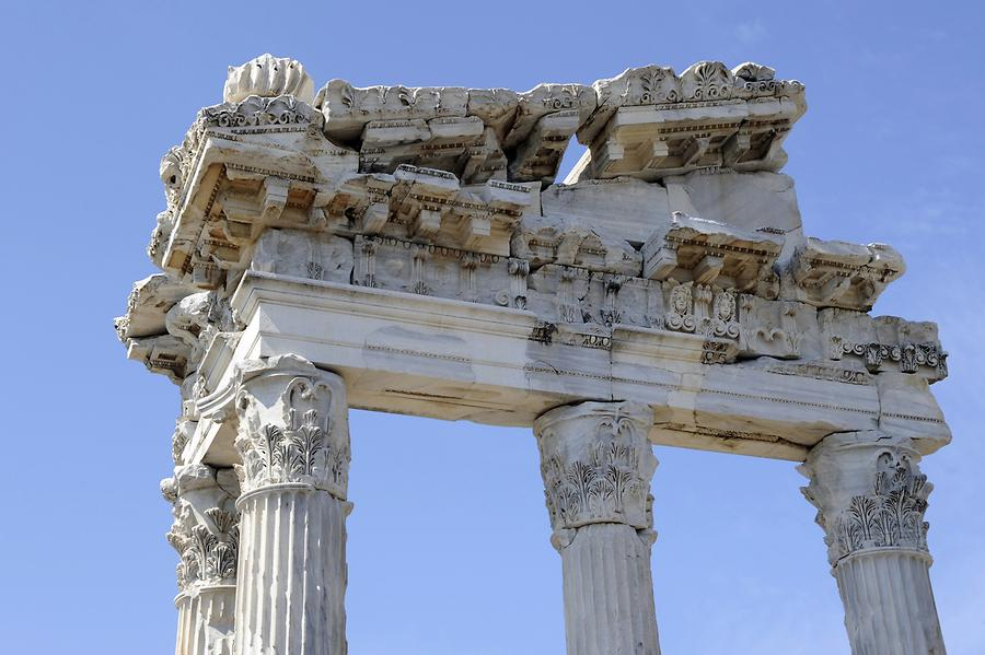 Pergamon - Temple of Trajan