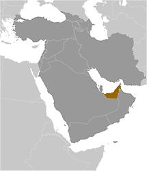 United Arab Emirates in Middle East