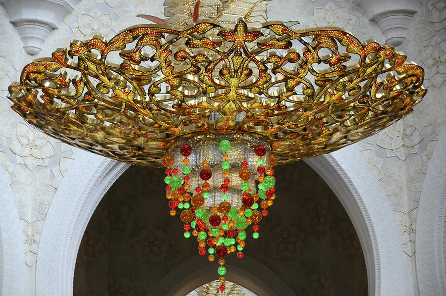 Chandelier Sheikh Zayed Grand Mosque
